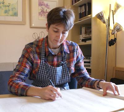 Artist Alison Nicholls
