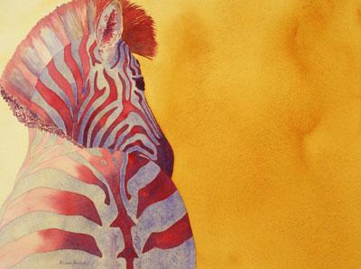 Zebra by Alison Nicholls