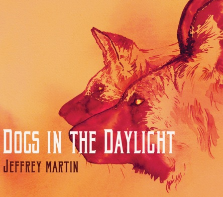 Expressions watercolor by Alison Nicholls on Dogs In the Daylight album by Jeffrey Martin