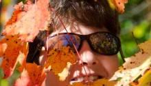 Alison Nicholls 'leaf-peeping' in Vermont