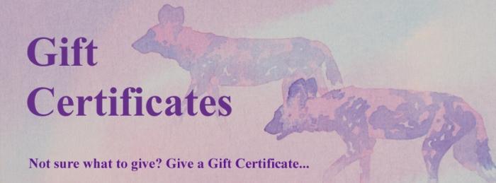 Gift Certificates by Alison Nicholls